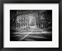 Framed Country Road 1