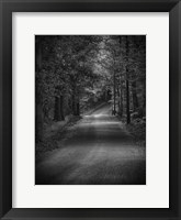 Dark Passage 1 Framed Print