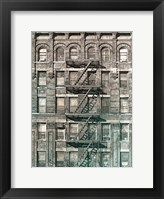City Escapes 4 Framed Print