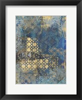 Ornate Azul C2 Framed Print