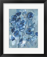 Framed Blue Hue Bouque