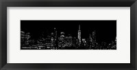 NY At NighT Framed Print