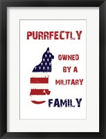Military Pet Framed Print