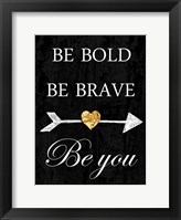 Be You Framed Print