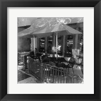 New York Bistro Framed Print