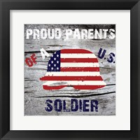 With Pride Framed Print