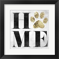 Home Pet Framed Print