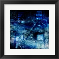 Midnight Blues Framed Print