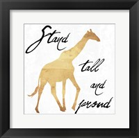 Stand Tall And Proud Framed Print