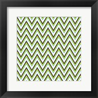 Chevron 3 Framed Print