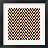 Chevron 4 Framed Print