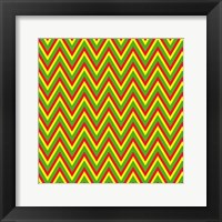 Chevron 5 Framed Print