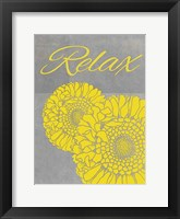 Spa Relax Framed Print