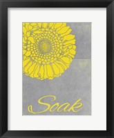 Spa Soak Framed Print