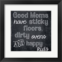 Good Moms Framed Print
