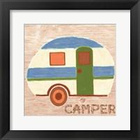Camper Framed Print