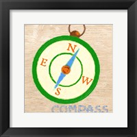 Framed Compass
