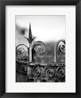 Framed Fence bw 3