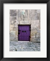 Cloony Purple 2 Framed Print