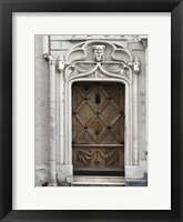 Paris Door Framed Print