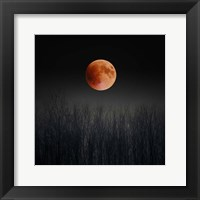 Framed Blood Moon