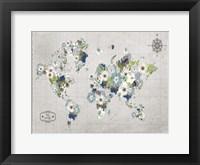 Blooming World Framed Print