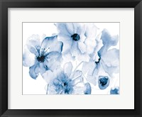 Framed Flowering Blue