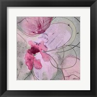 Flower Bomb 2 Framed Print