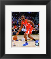 Framed Chris Paul 2015-16 Action