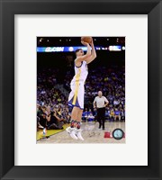 Framed Klay Thompson 2015-16 Action