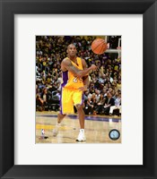Framed Kobe Bryant 2015-16 Action