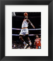 Framed LeBron James 2015-16 Action