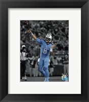 Framed Marcus Mariota 2015 Spotlight Action