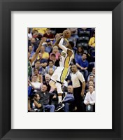 Framed Paul George 2015-16 Action