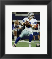 Framed Tony Romo 2015 Action
