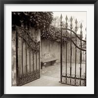 Framed Avignon I