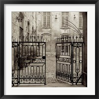 Avignon II Framed Print