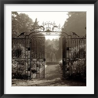 Framed Hampton Gates III