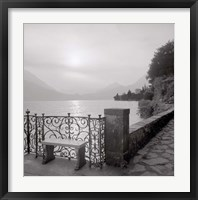 Lake Vista I Framed Print
