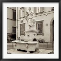 Lucca I Framed Print