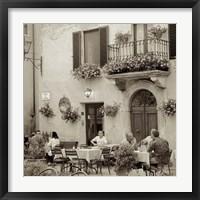 Tuscany Caffe VI Framed Print