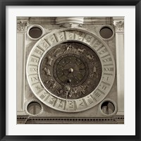 Il Grande Orologio IV Framed Print