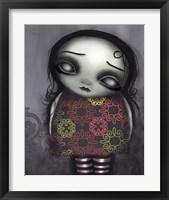 Framed Zombie Girl