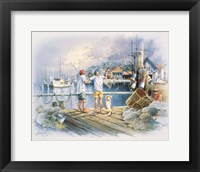 Framed Fishing Dock A