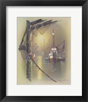 Boat B Framed Print