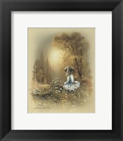 Framed Little Girl A