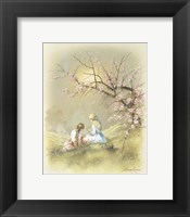 Little Girl B Framed Print