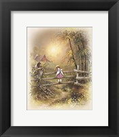 Little Girl C Framed Print