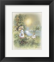 Little Girl D Framed Print