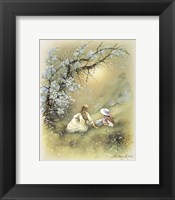 Little Girl E Framed Print